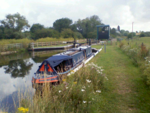 Almost on the Nene, July 2011