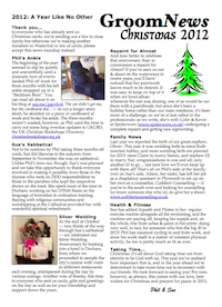 GroomNews Christmas 2012: Printer-friendly version (pdf, 168kb)