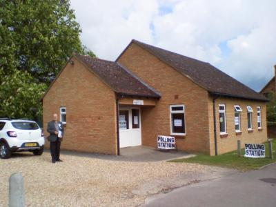 St Andrew's Church Hall, Langford: Polling Station for the 2015 General and Local Elections