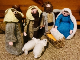 Knitivity, by Phil's Mum
